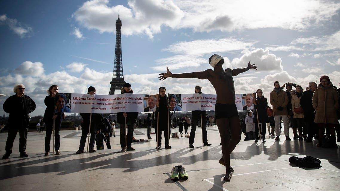 Senegalese artist Alioune Diagne AFP