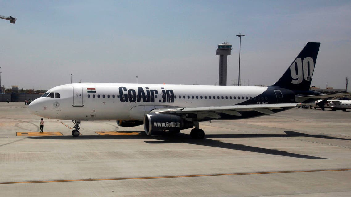 A GoAir aircraft taxis on the tarmac at Bengaluru International Airport in Bangalore. (File photo: Reuters)