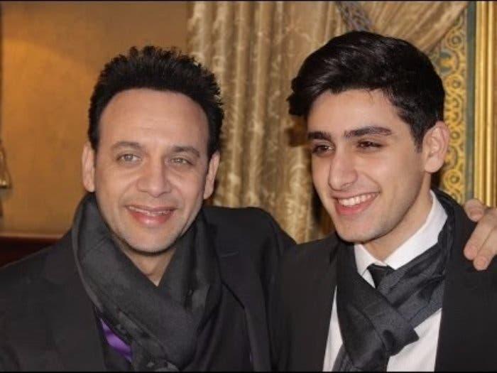 مصطفى قمر وابنه الممثل الصاعد تيام