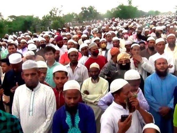 كورونا بنغلاديش..عشرات الآلاف في تشييع رجل دين
