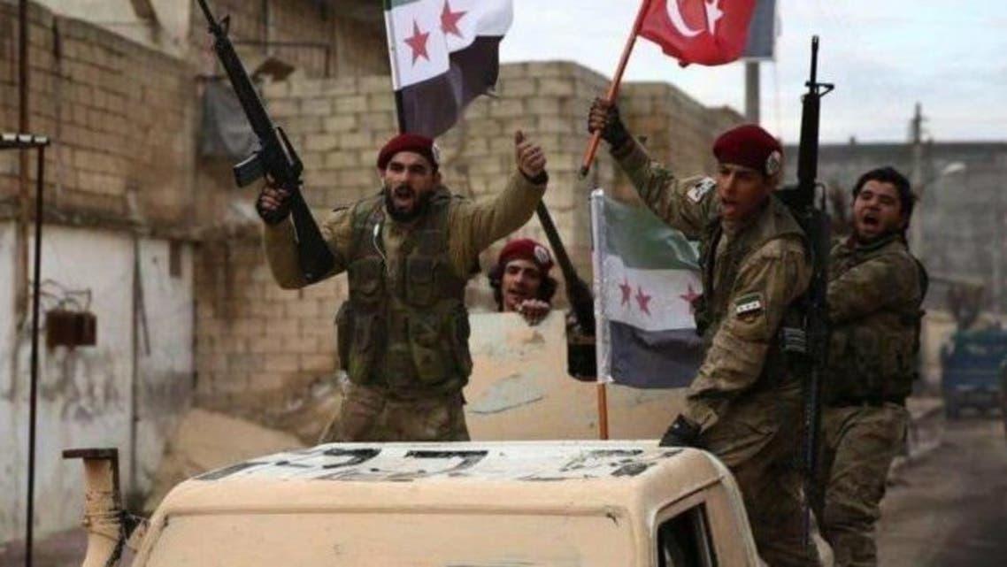 نقل-مقاتلين-سوريين-الي-ليبيا