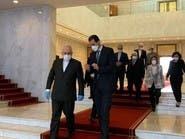 ظريف يلتقي الأسد ويدعو لرفع العقوبات عن البلدين بسبب كورنا
