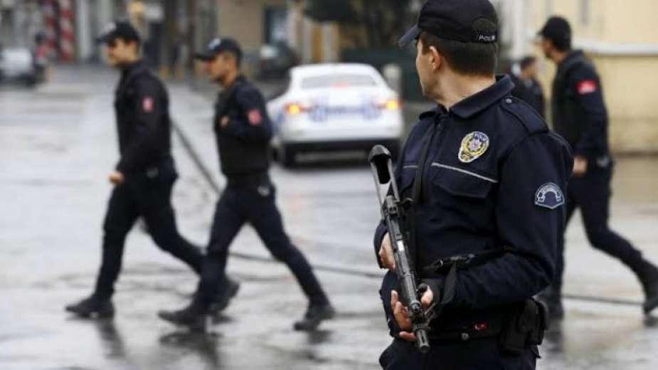 قوات من الشرطة التركية