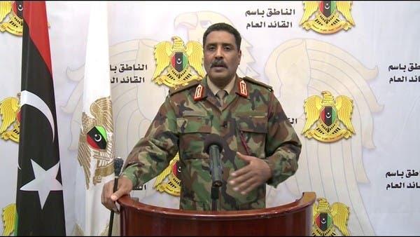الجيش الليبي: تفجير سبها رسالة إخوانية لعرقلة الانتخابات
