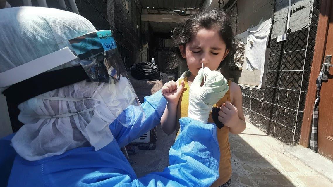 HEALTH-CORONAVIRUS-IRAQ-MOBILETESTING- Reuters