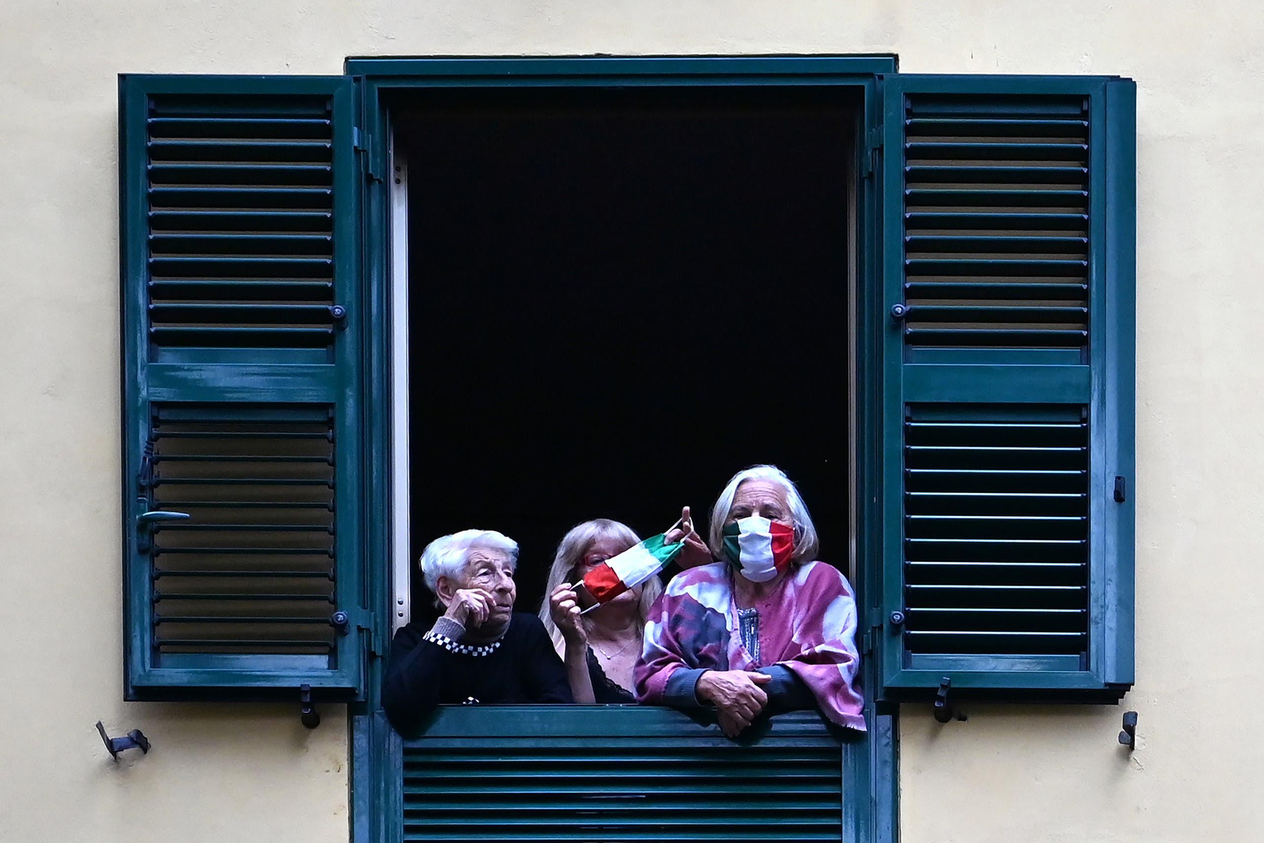 من سان باسيليو في روما (أرشيفية- فرانس برس)