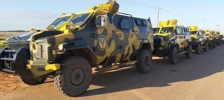 آليات تابعة للجيش الليبي