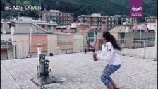 Video: Italian girls take to rooftop tennis amid coronavirus lockdown