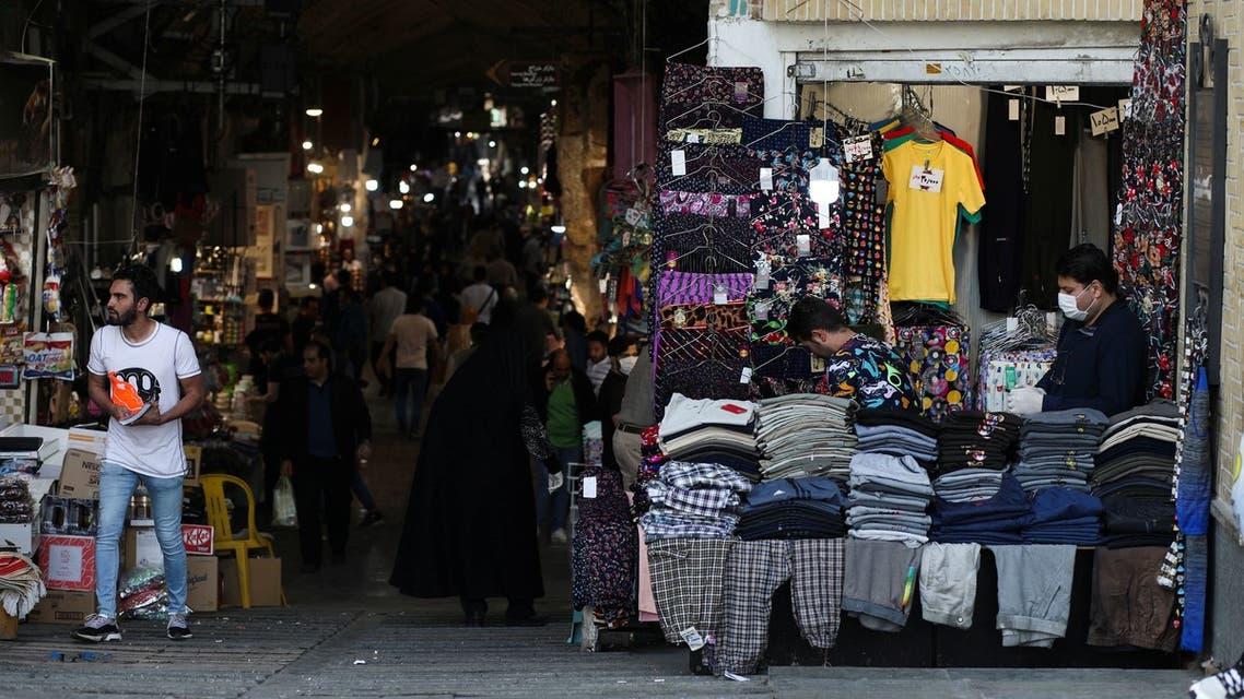من طهران يوم 20 أبريل (رويترز)