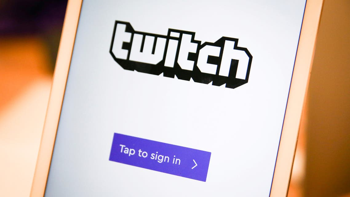The Twitch mobile streaming app. (File photo: Reuters)
