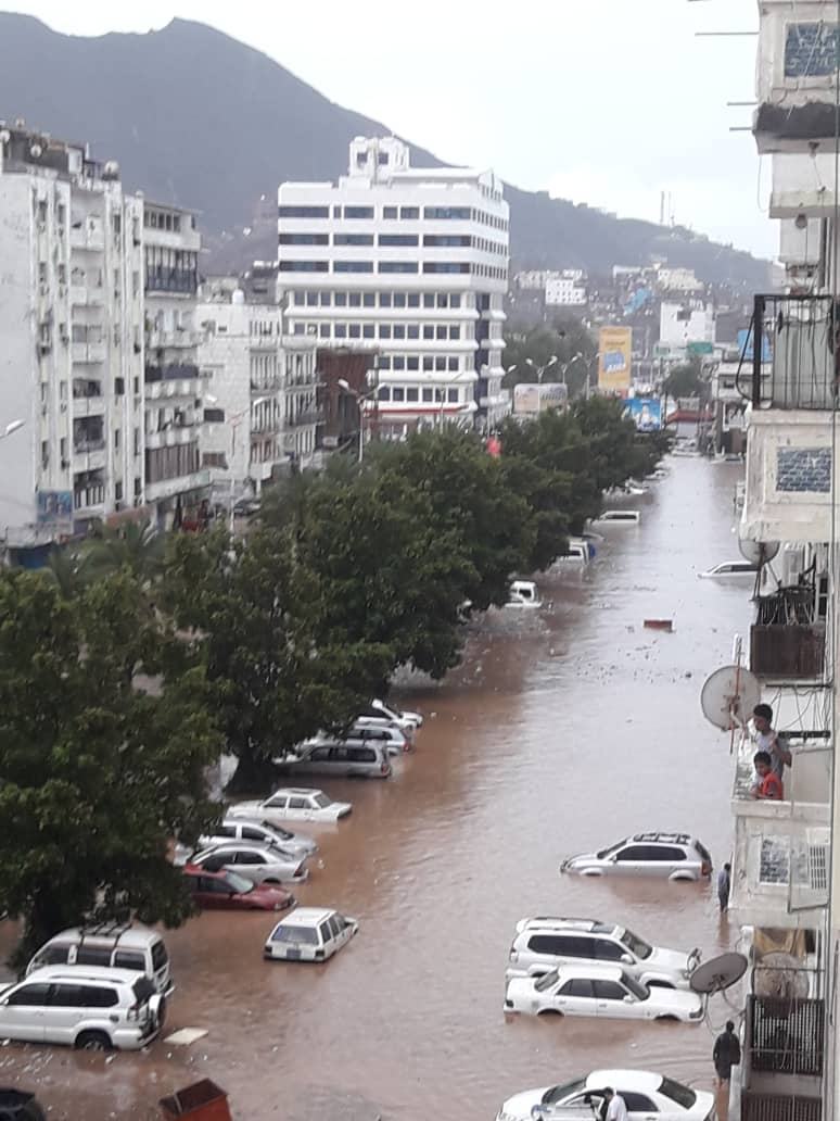 Yemen: aden flood