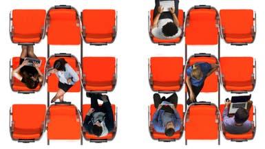 مقاعد الطائرات بعد كورونا.. تباعد اجتماعي وخصوصية أكبر