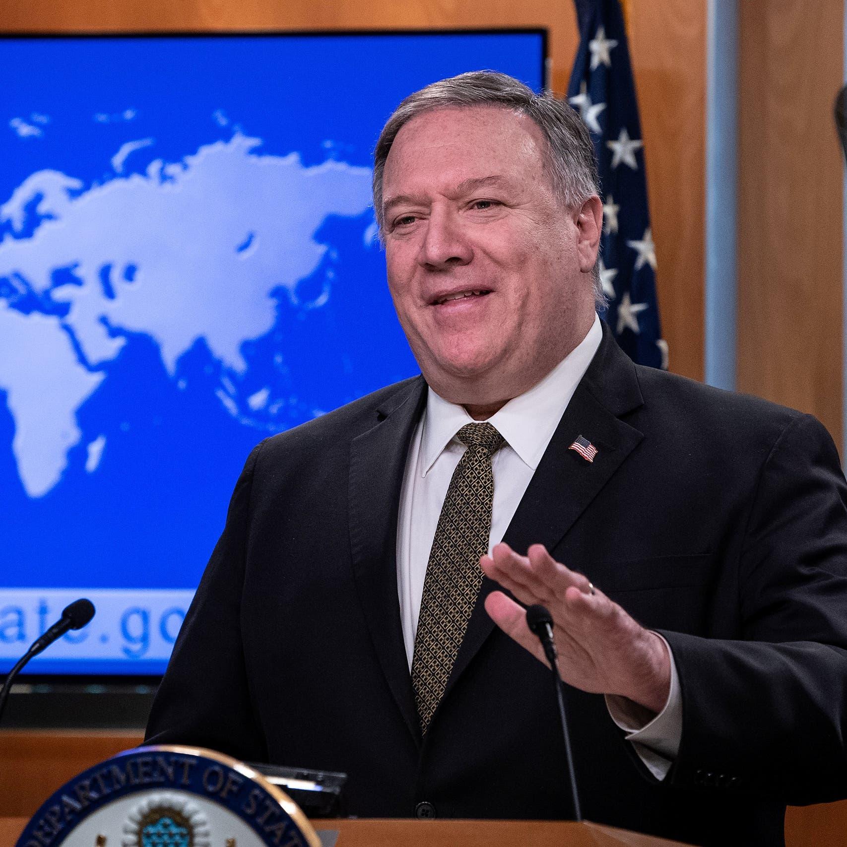بومبيو: البرنامج الصاروخي الإيراني خطير وليس سلمياً
