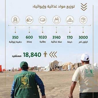 مركز الملك سلمان يطلق حملة إغاثة عاجلة للمتضررين من سيول عدن
