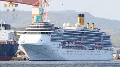 60 إصابة جديدة بكورونا على سفينة سياحية في اليابان