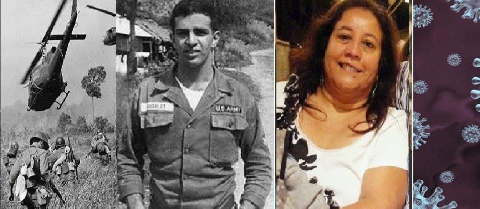 أول قتيلين أميركيين، باتريسيا داود بكورونا، وريتشارد فيتزغيبن بحرب فيتنام