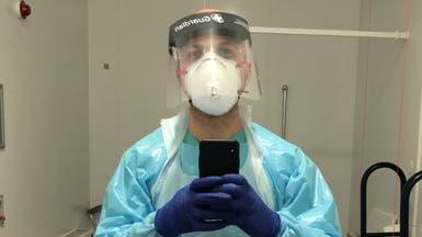 مخرج سوري يتحول لعامل نظافة بمستشفى لندني لمحاربة كورونا