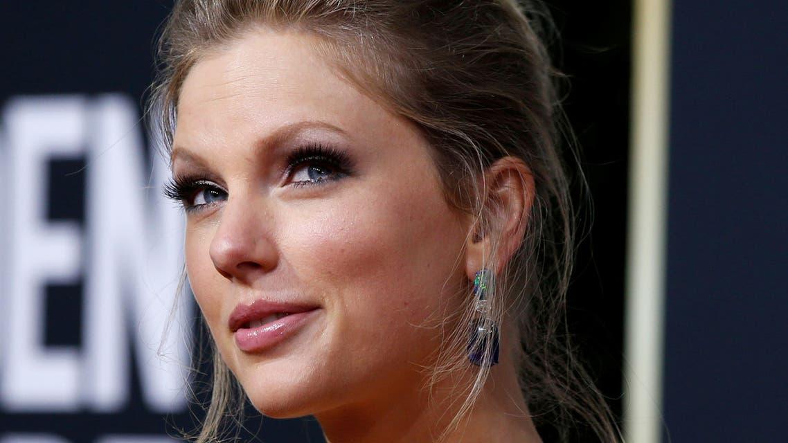 FILE PHOTO: 77th Golden Globe Awards - Arrivals - Beverly Hills, California, U.S., January 5, 2020 - Taylor Swift. REUTERS/Mario Anzuoni/File Photo
