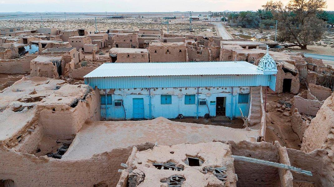 المسجد قبل الترميم