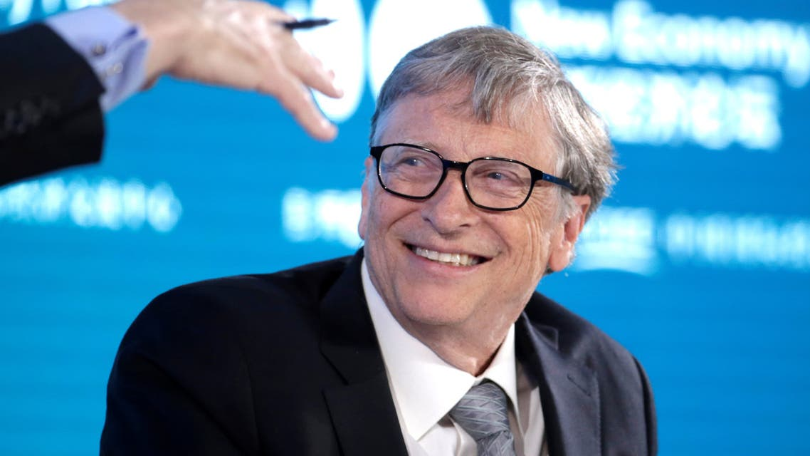Bill Gates, Co-Chair of Bill & Melinda Gates Foundation, attends a conversation at the 2019 New Economy Forum in Beijing. (Reuters)