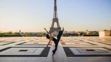 Syrian dancer performs on empty Paris Trocadero square amid coronavirus lockdown