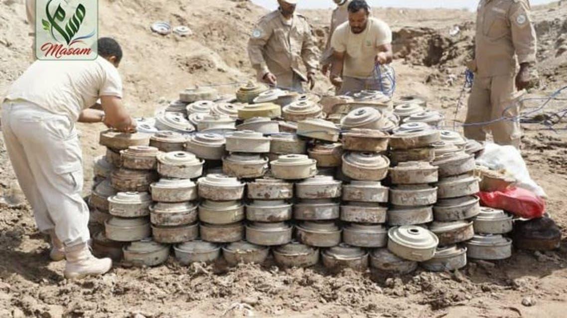 إتلاف ألغام حوثية في المخا اليمن