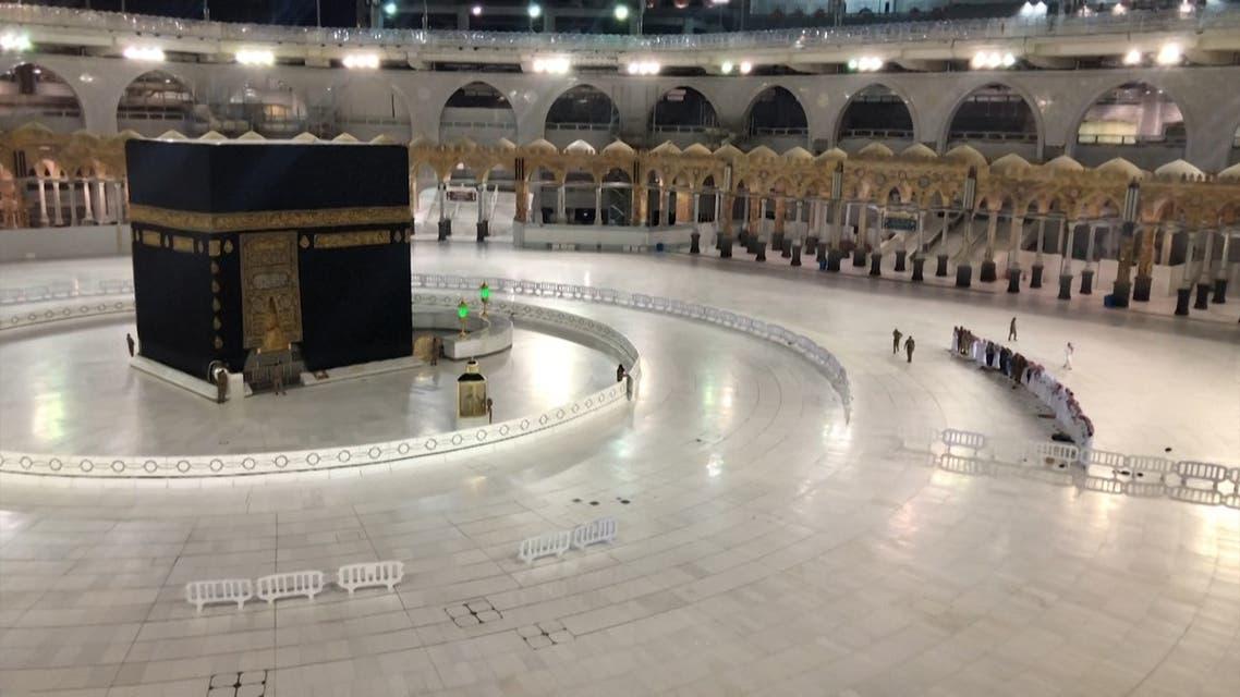 Ramadan under lockdown Mecca's Grand Mosque devoid of worshippers