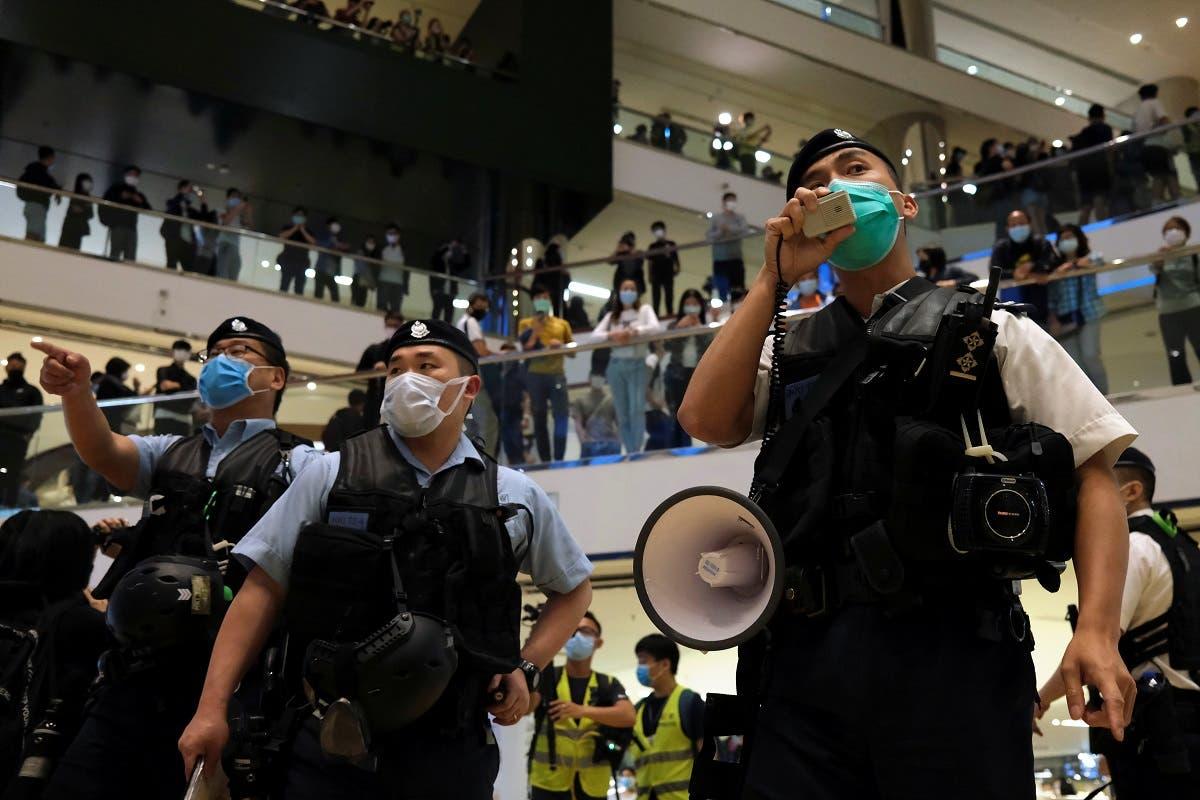 Hong Kong protests. (Reuters)