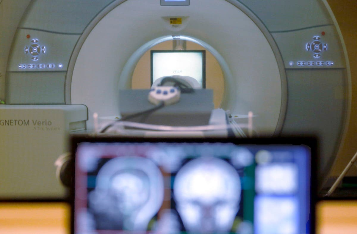 A Nov. 26, 2014 file photo of a brain-scanning MRI machine used at Carnegie Mellon University in Pittsburgh. (File photo: AP)