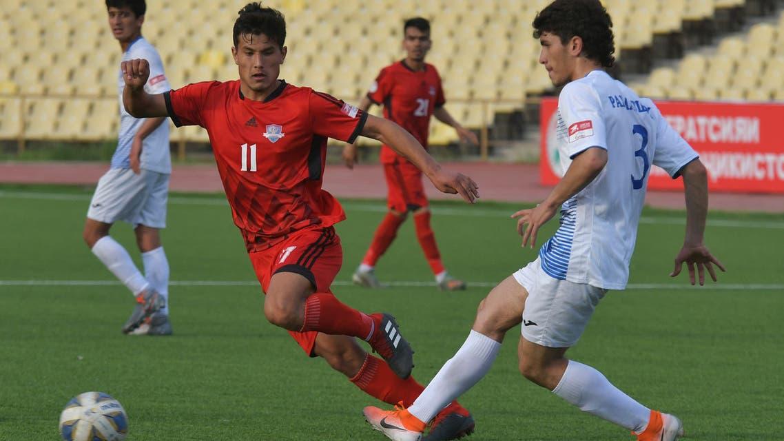 FC Lokomotiv-Pamir v FC Fayzkand in Dushanbe, Tajikistan, April 5, 2020. (Reuters)