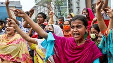 Textile workers in Bangladesh hard hit by coronavirus demand wages, flouting lockdown