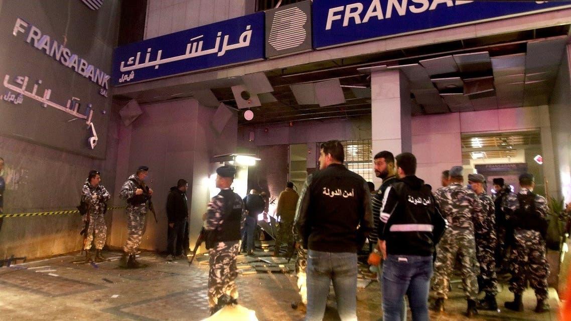 Lebanon Bank attack