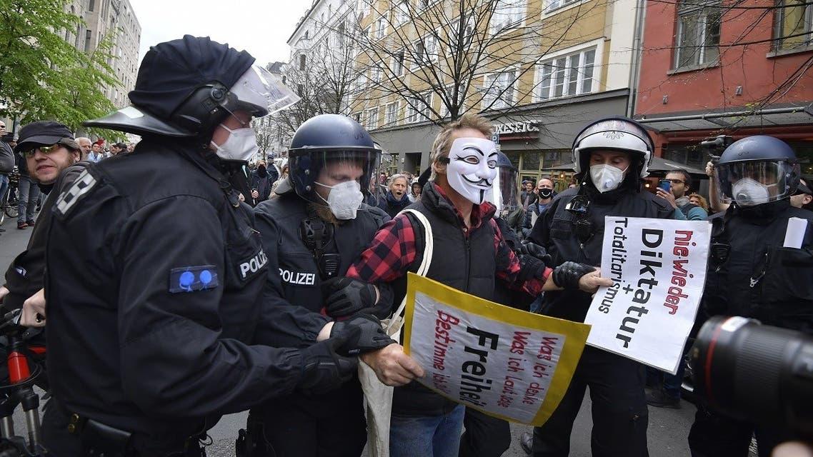 Germany coronavirus protests