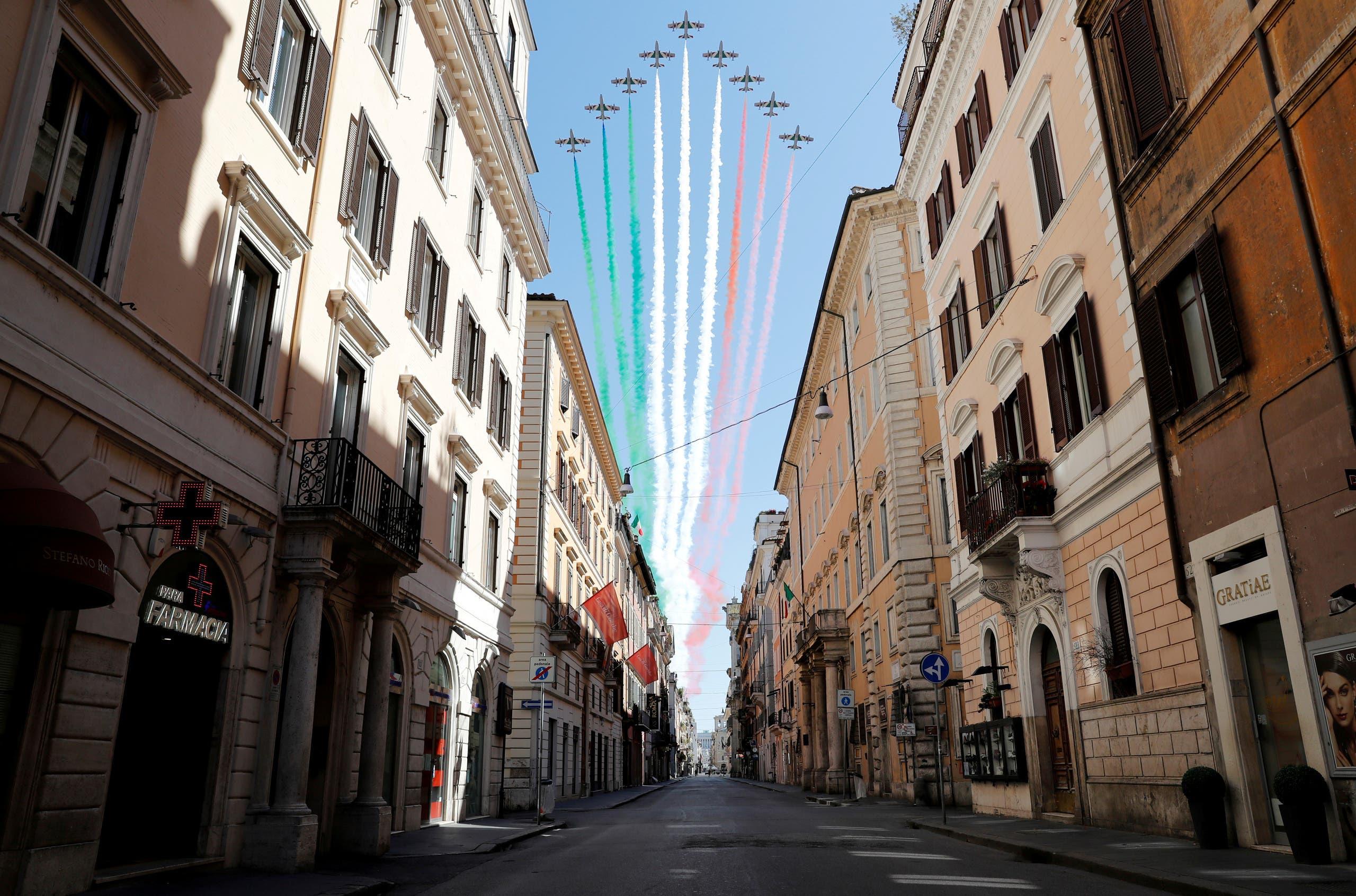من روما يوم 25 أبريل