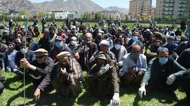 شاهد.. تجمع ديني كبير بأفغانستان رغم كورونا