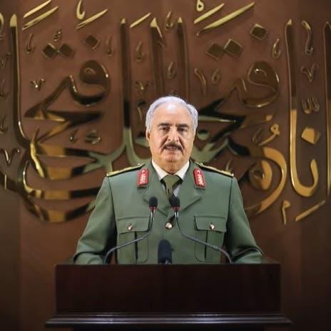 حفتر يهدد بالعودة للسلاح حال بقاءالأتراكفي ليبيا