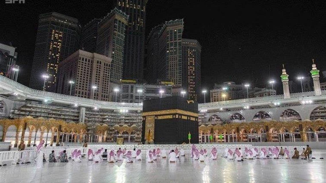 KSA: Social Distancing in Prayers