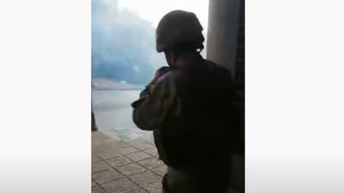 شاهد.. اشتباكات بين المتظاهرين والجيش في لبنان