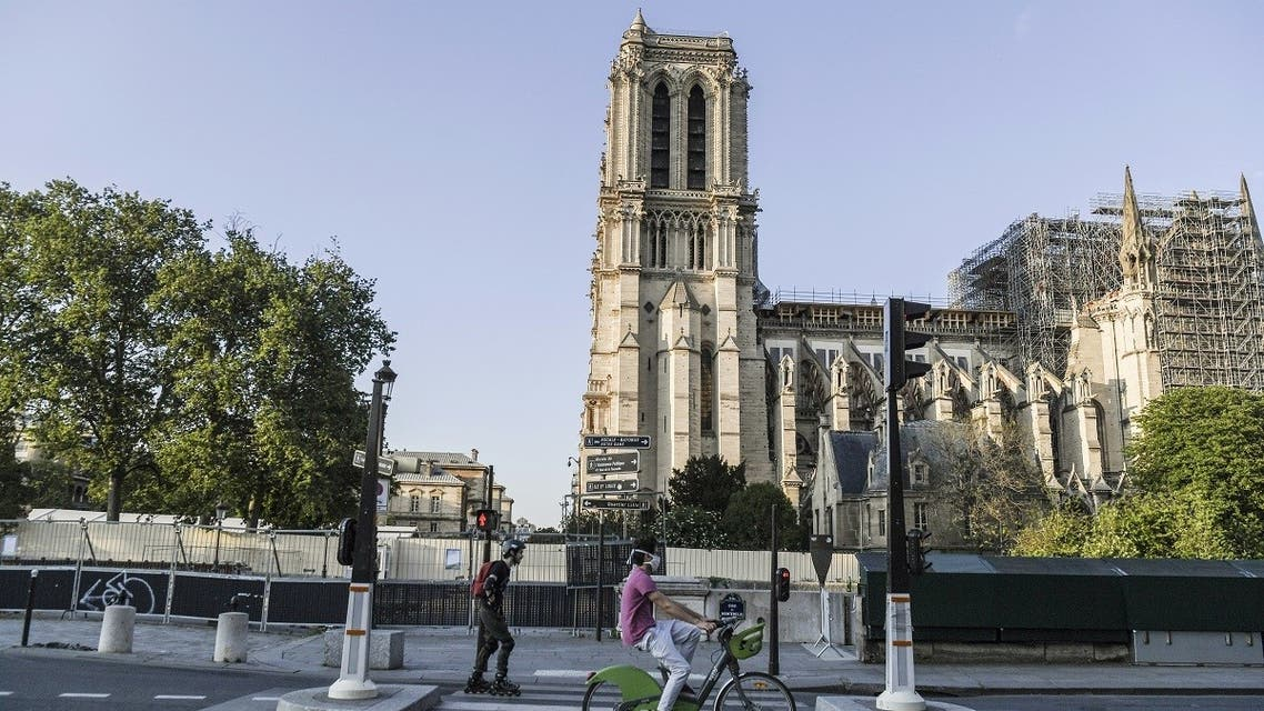 Notre Dame Cathedral in Paris - AFP