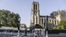 Notre-Dame cathedral rebuilding resumes in Paris after coronavirus shutdown