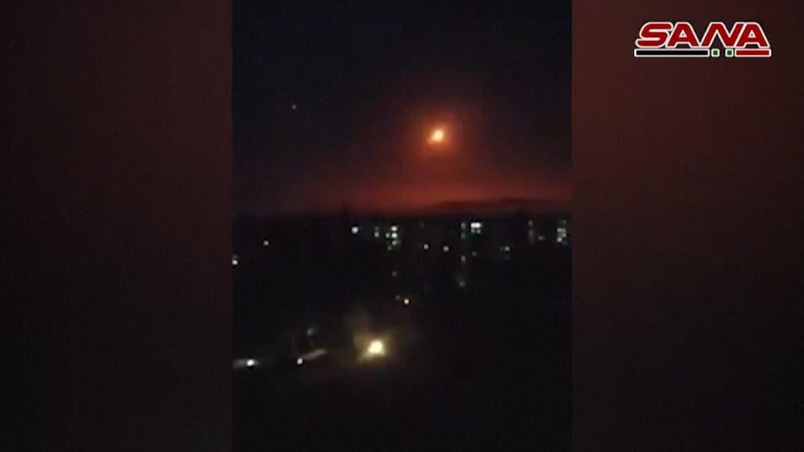 Israeli strike near Syria capital kills three civilians: State media
