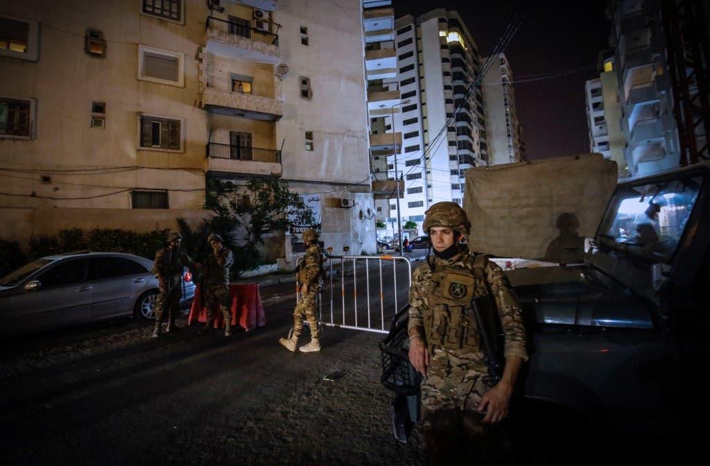 الجيش اللبناني - طرابلس - فرانس برس