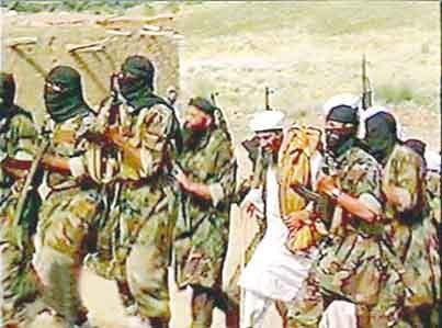 بن لادن در افغانستان