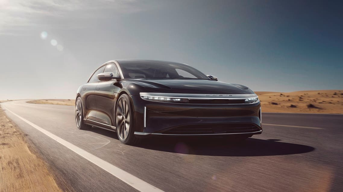 The Lucid Air. (Supplied)