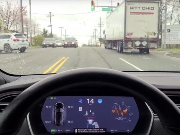 تيسلا قادرة على رؤية إشارات المرور وإبطاء سرعتها