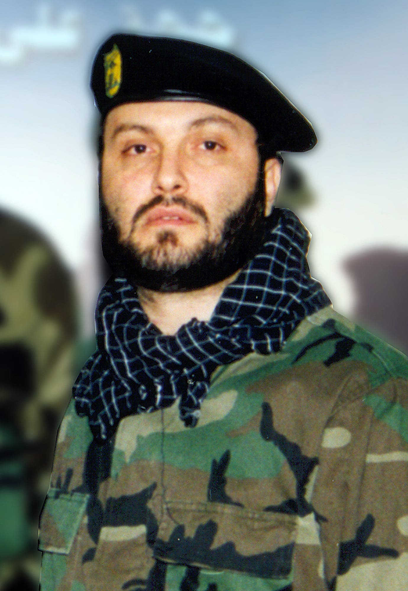 An undated picture released by the press office of Hezbollah in Beirut on February 14, 2008, shows late Hezbollah commander Imad Mughnieh. (AFP)