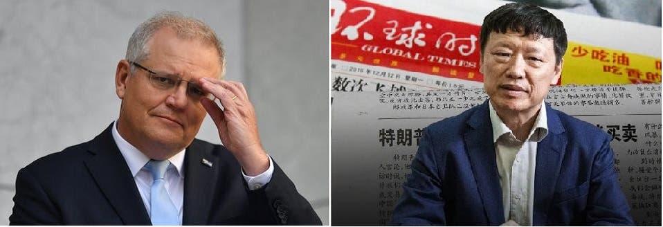 الصحافي، صاحب عبارة العلكة، وصورة لرئيس وزراء أستراليا