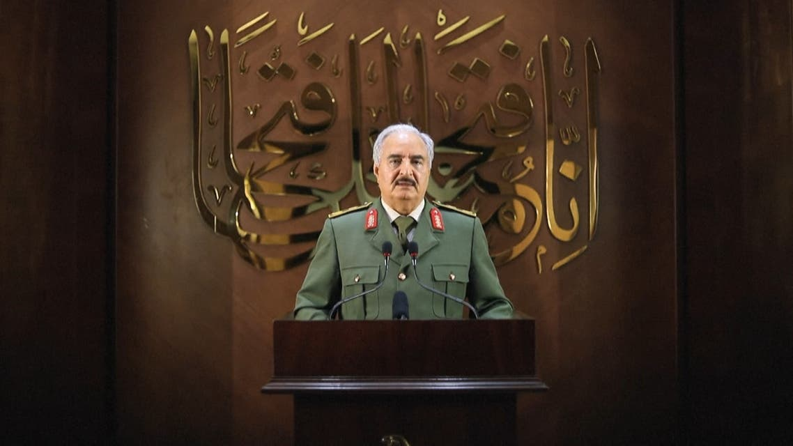 Libyan National Army's Haftar claims 'mandate from the people'