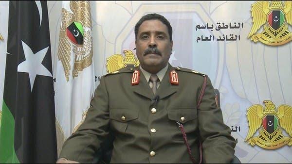 الجيش الليبي: تركيا مستمرة في زعزعة أمن المنطقة وليبيا