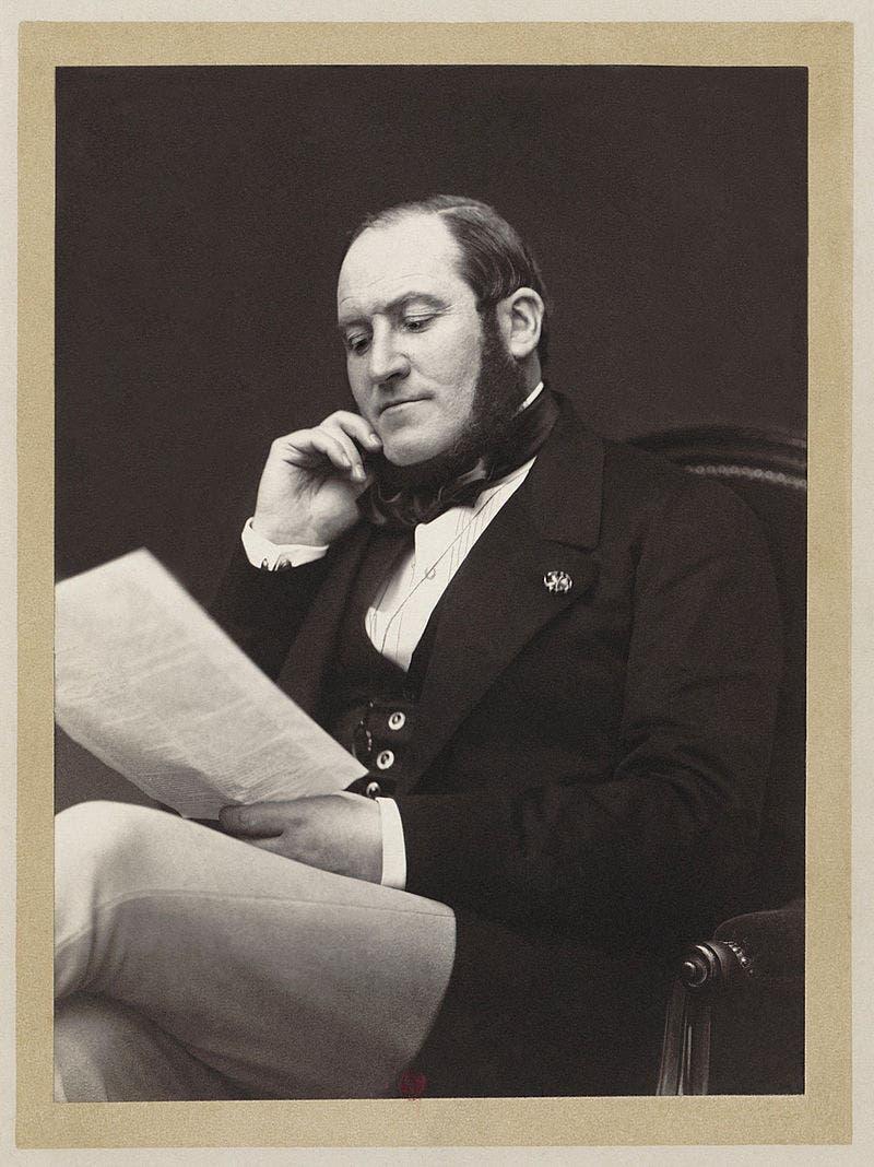 صورة للمهندس الفرنسي جورج أوجين هوسمان
